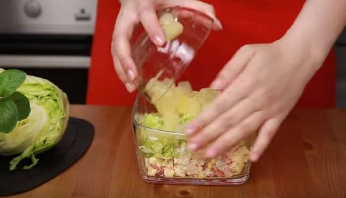 ложу ананасы консервированные